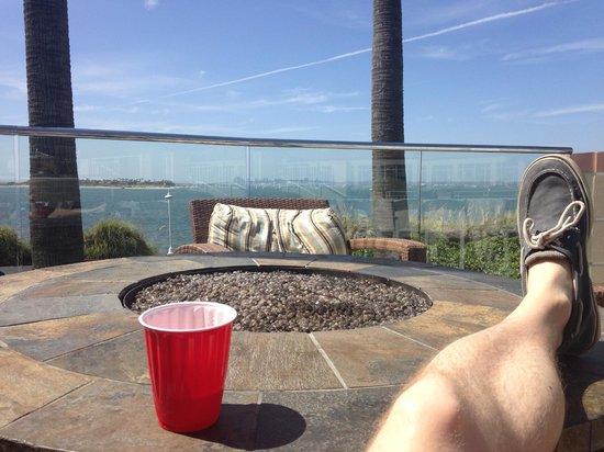 Loews Coronado Bay Resort: SD Skyline View