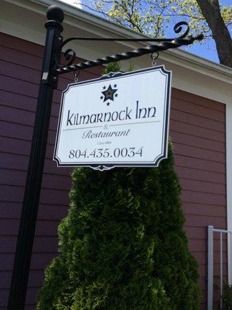 Kilmarnock Inn Sign