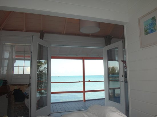 Staniel Cay Yacht Club: Our view