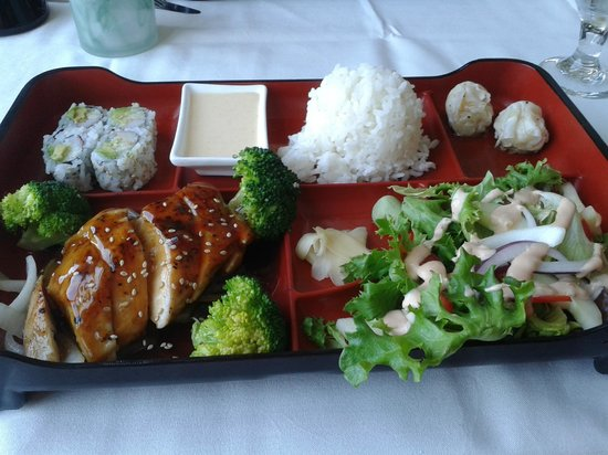 Japanese Lunch Box Chicken Teriyaki Picture Of
