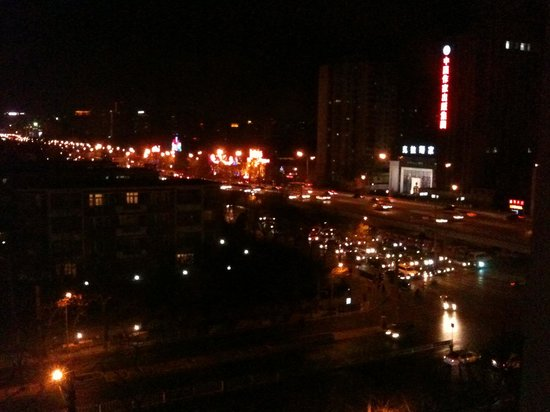 Zhaolong Hotel: View by the night