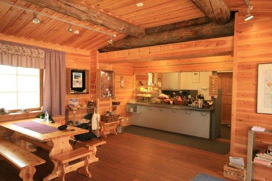 Amethyst Mine Lapland: the mine cafe