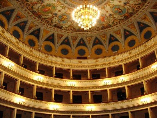 Teatro Mancinelli: Orvieto Opera House: Topmost tier of boxes