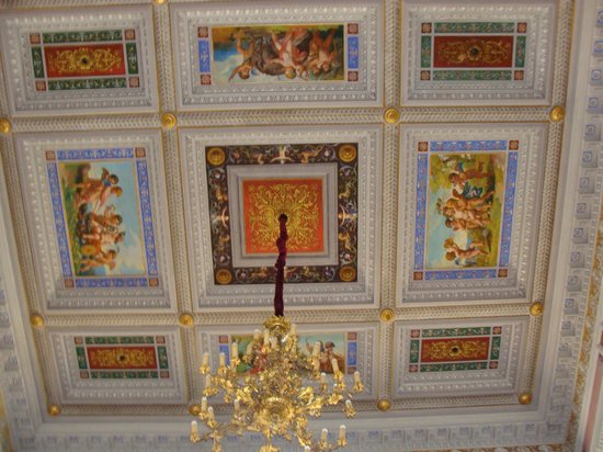 Teatro Mancinelli: Orvieto Opera House: Ceiling