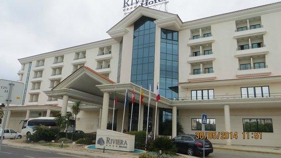 Riviera Hotel Carcavelos: Главный фасад