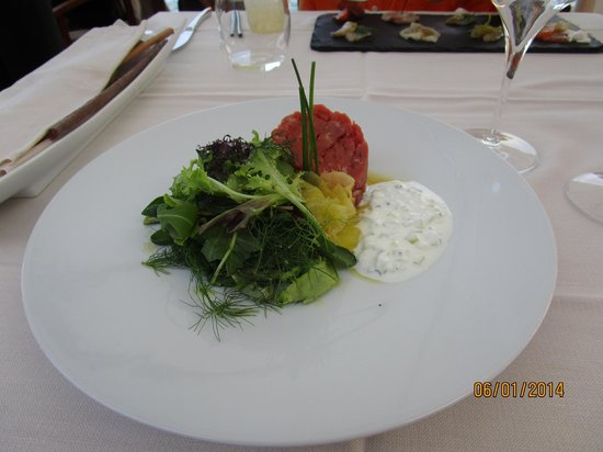 Riviera : Beef appetizer... so good!