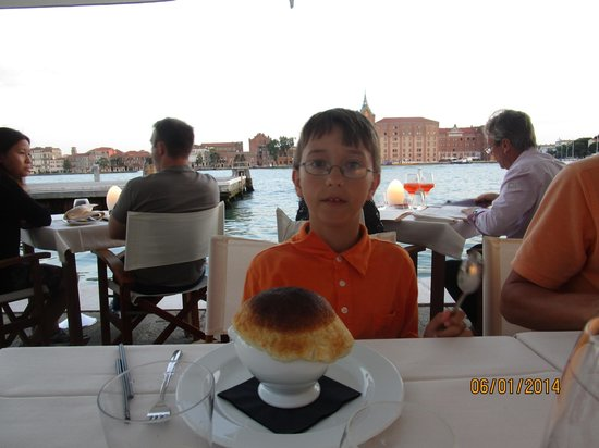Riviera : Even the 11 year old loved the food.