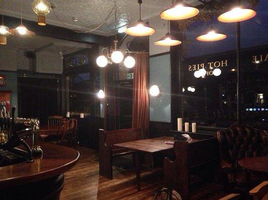 St James of Bermondsey: Inside the bar area
