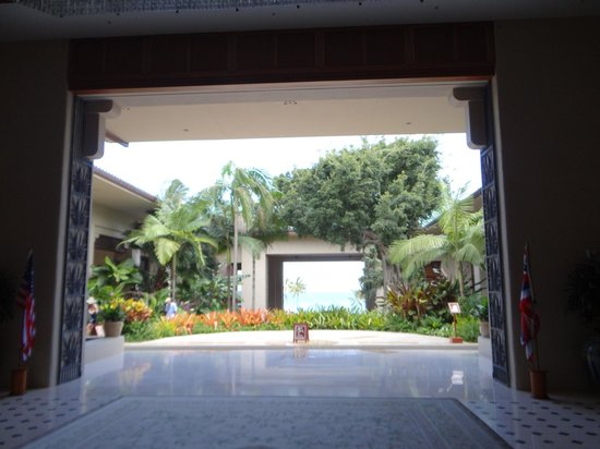 Grand Hyatt Kauai Resort & Spa : Inside main entrance