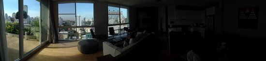 Shama Sukhumvit Bangkok: Panoramic view of the apartment