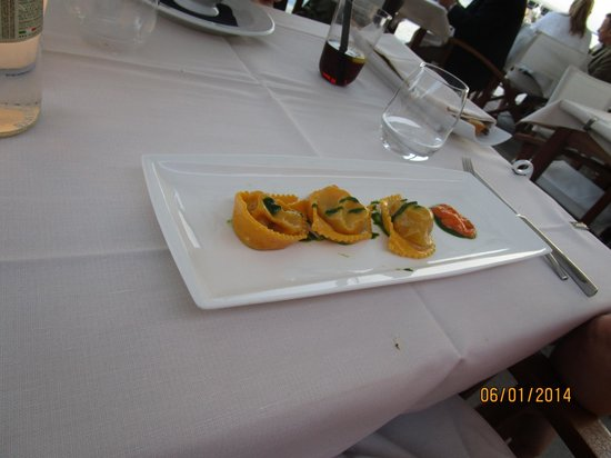 Riviera : Ravioli... really good