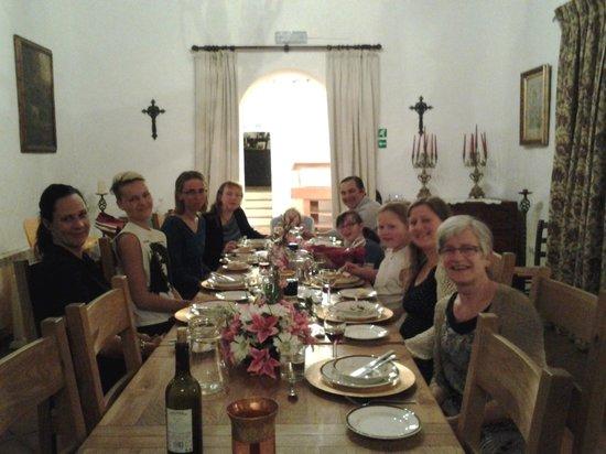 Hacienda Horses: Dinner