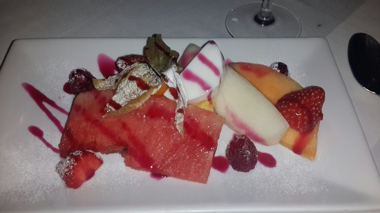 Langtry Manor Hotel: My desert..amazing!!