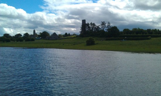River Shannon: Clonmacnoise from the river