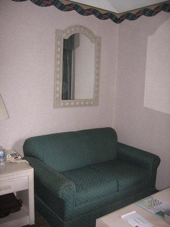 Bodega Coast Inn & Suites: Love seat