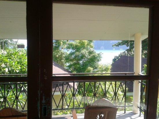 Bay View Resort: Vista do primeiro quarto, antes de ter o up grade!