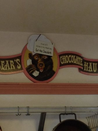 Papa Bear's Chocolate House