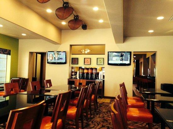 Hampton Inn Tropicana: Dining room