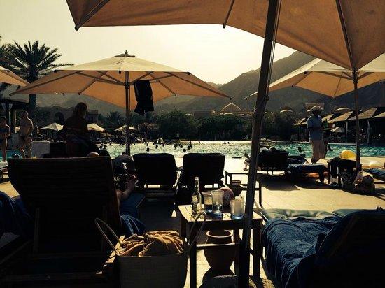 Miramar Al Aqah Beach Resort: The pool