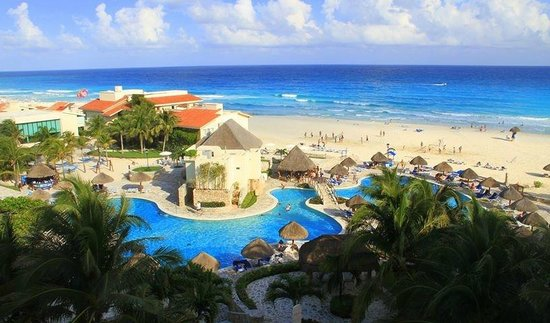 Grand Park Royal Cancun Caribe: View from the suite