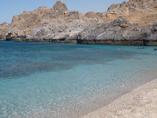 Skinaria Beach: mare cristallino