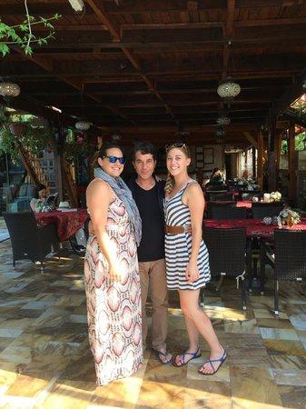Melrose House Hotel : us with ofuk