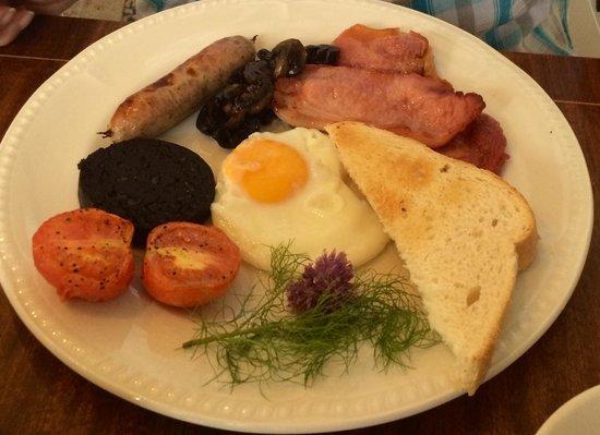 Peterstone Court Hotel: Full welsh breakfast