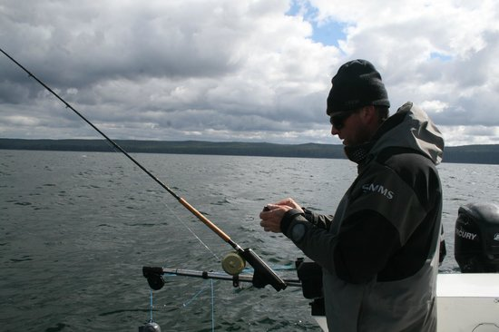 The West Coast Fishing Club - The Clubhouse : Guides hard at work