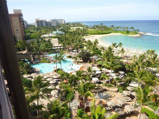 Aulani, a Disney Resort & Spa: View of Waikohole Valley