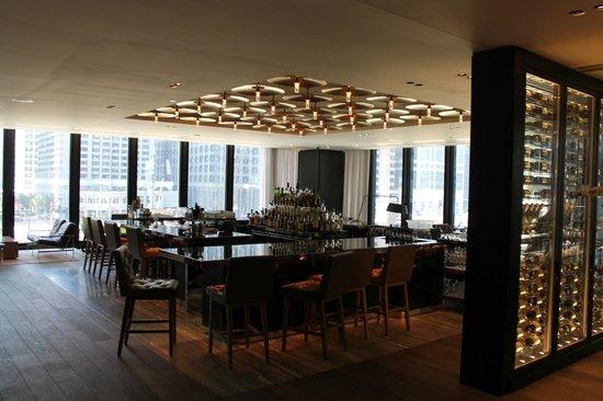 The Langham, Chicago : Бар отеля