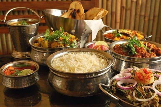 Taj Tenerife Indian Restaurant: Tipico Indian food en Taj Tenerife