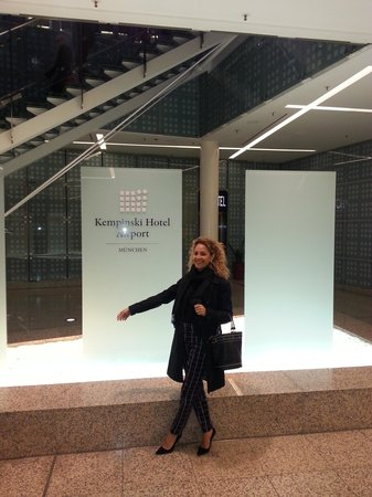 Hilton Munich Airport: eu me sentindo apaixonada