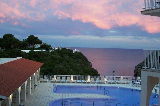 Hotel Playa Azul : Zimmeraussicht