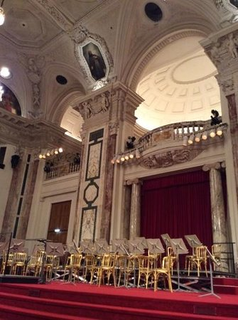 Hofburg: Inside the Palace, waiting for the Orchestra