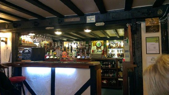 The Willow House: One of the bars