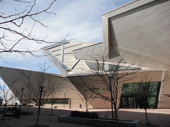 Denver Art Museum : Oposite side