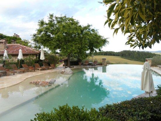 Borgo Santo Pietro: Infinity swimming pool