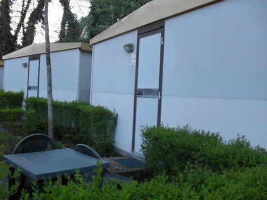 Happy Village & Camping : El container de chapa donde nos alojamos u.u