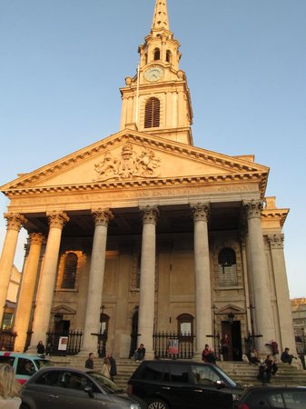 St Martin-in-the-Fields: St Martins in-the-field Church