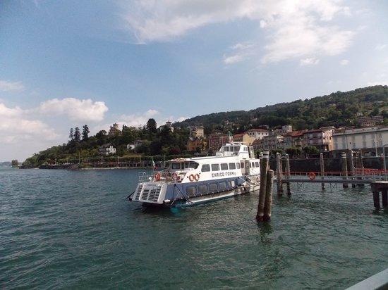 Sirio Hotel: veduta parziale di Stresa dall'imbarcazione