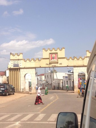 Harar Ber - Entrance gate to the city of Harar photo by Aida sept 2013