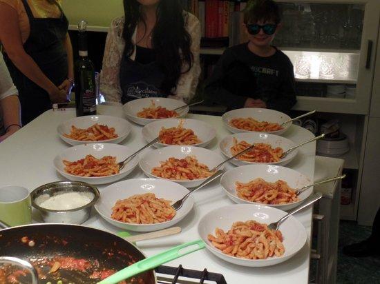 Walks of Italy : Dinner!!