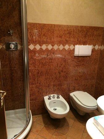 Le Due Corti: bom banheiro