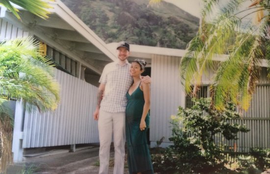 Hook up Surfing: Kittie and I in Hawaii Kia on our last day on Oahu