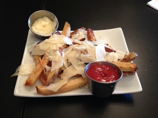 The Red Pepper: Truffle parmesan fries