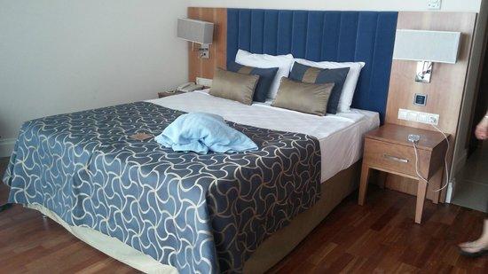 Liberty Hotels Lara : Die neuen Betten im Zimmer