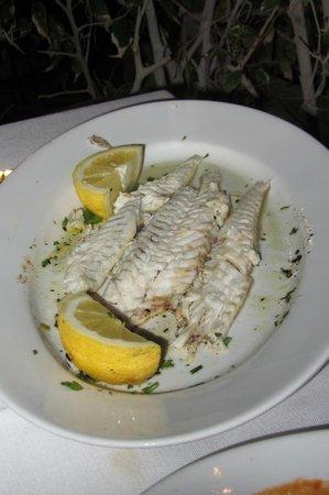 il Barcaiolo: Fresh fish