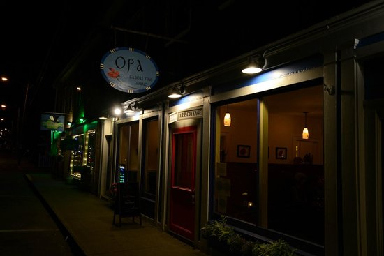 Opa restaurant bar harbor