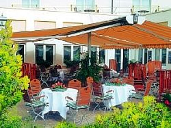 Kemberg, Deutschland: Terrasse