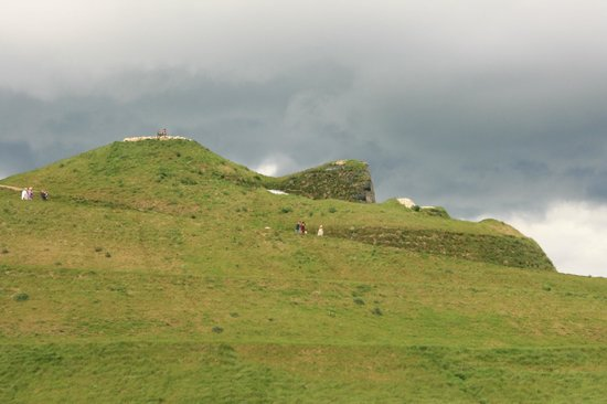 The face of Northumberlandia